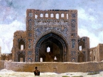 خرابه های مسجد آناو دراطراف شهر عشق آباد